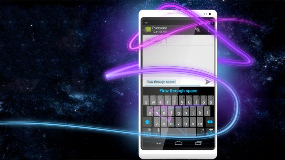 Dette Android-tastaturet lar deg skrive uten å løfte fingeren