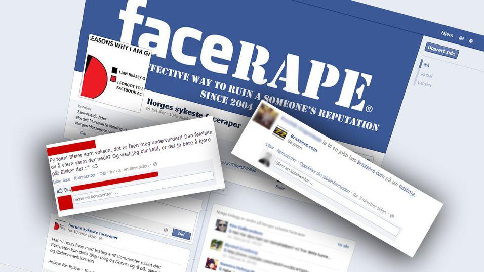 Såkalt «faceraping» er når uvedkommende skriver statuser eller endrer profilen din på Facebook – gjerne i lite smigrende ordelag.