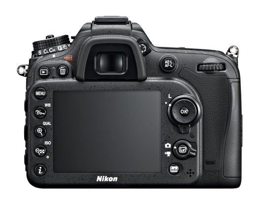 Nikon D7100 sin bakside.
