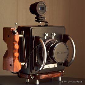Eiriks DIY 4x5-kamera.