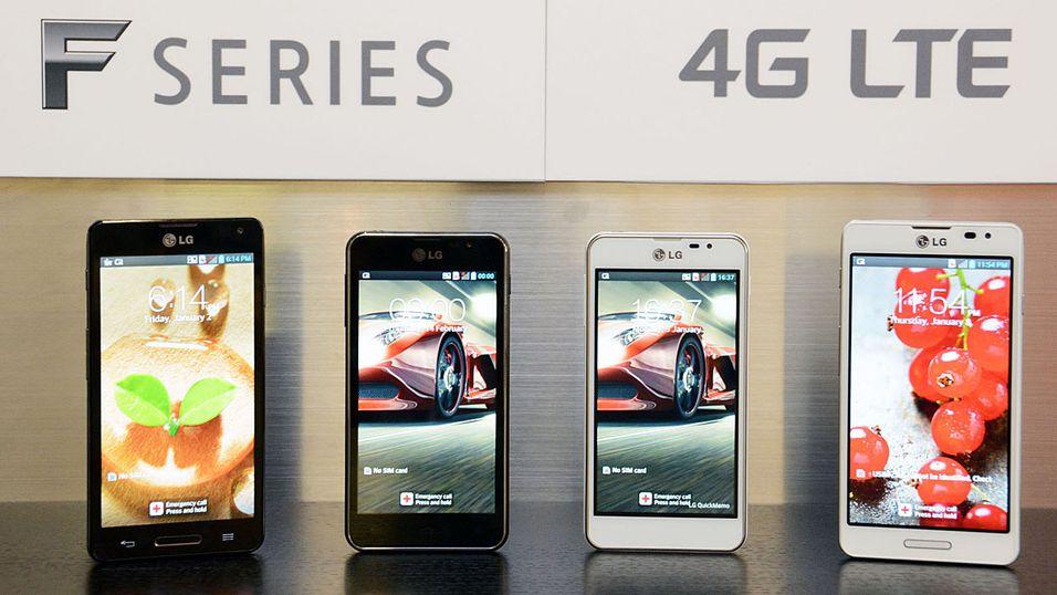 LG sniklanserer før mobilmessen