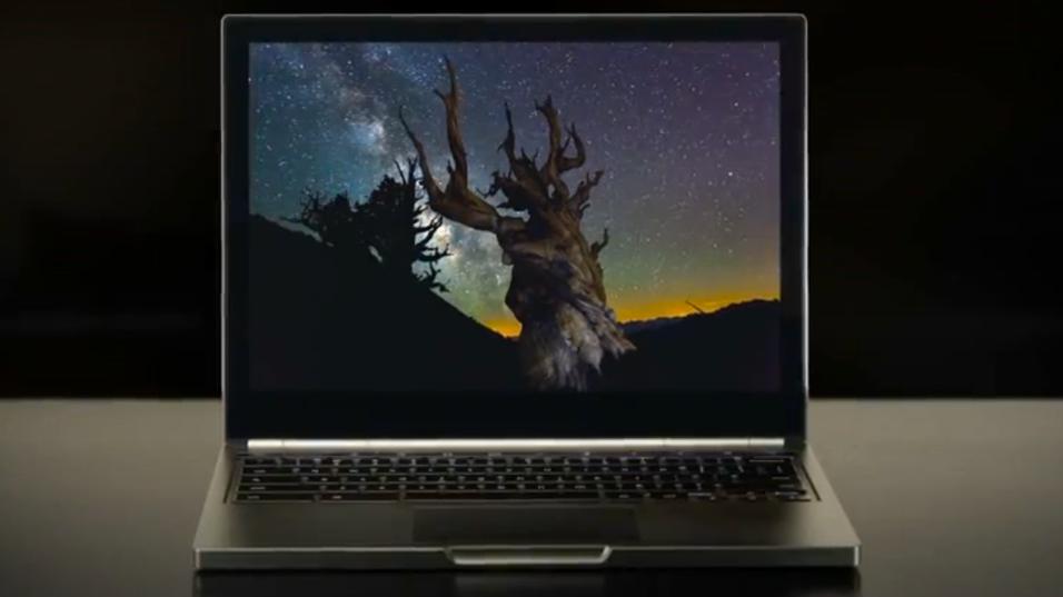 Her er Googles bærbare PC med knallskjerm