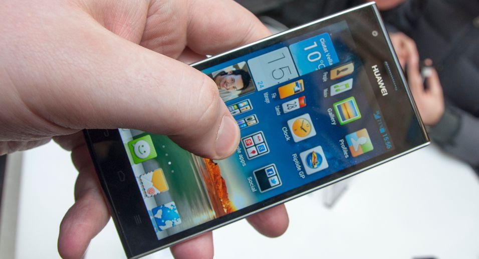 SNIKTITT: Huaweis nylanserte telefon er en kameleon