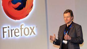 Jon Fredrik Baksaas var med på lanseringen Mozilla Firefox OS.