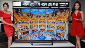 LG vil gjerne lansere denne 84 tommer store 4KTV-en i Europa. Vi takker ikke nei.