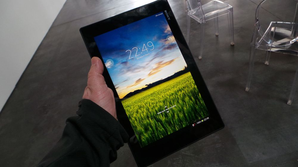 TEST: Sony Xperia Tablet Z2