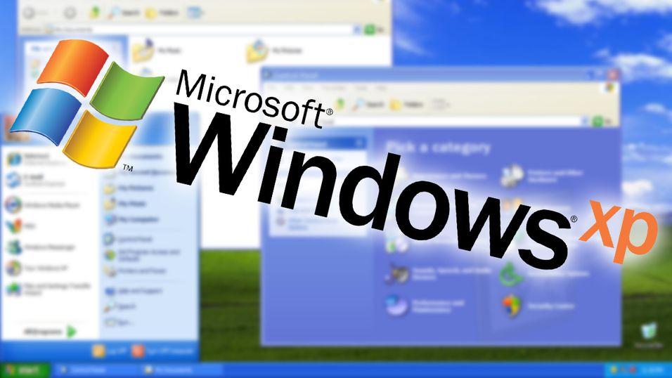 Windows XP havner på toppen av en lite smigrende kåring.