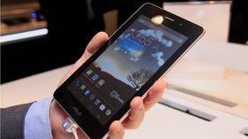 Asus FonePad er på størrelse med Google Nexus 7.