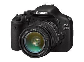 Canon EOS 550D.