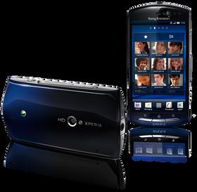 Sony Ericsson Xperia neo.