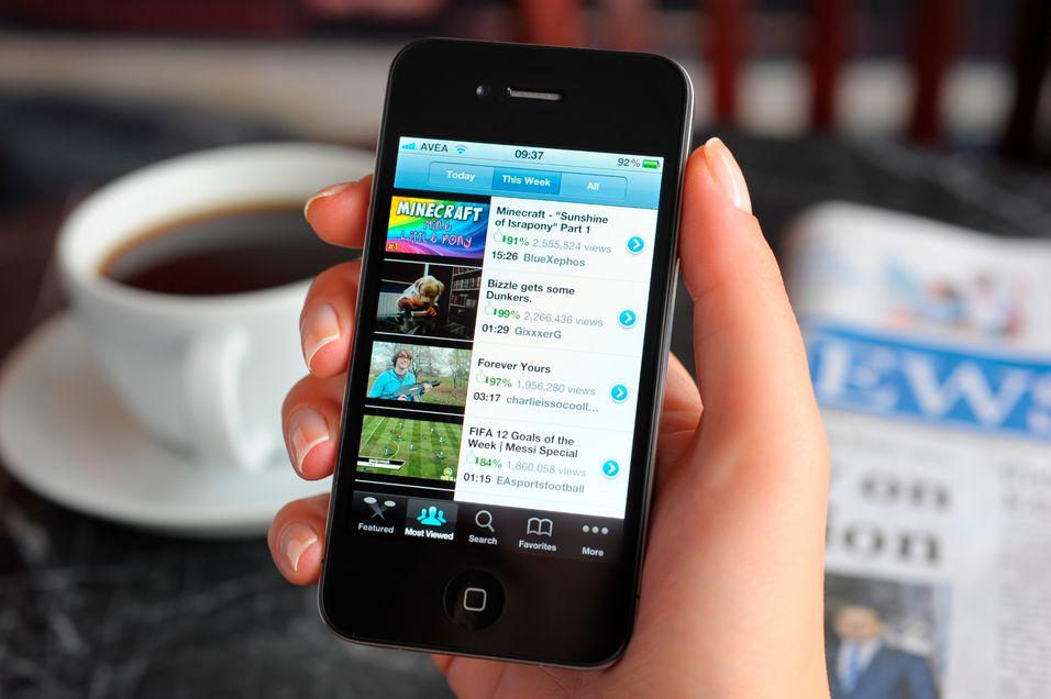 Nå kan du se filmer i Apple-skyen