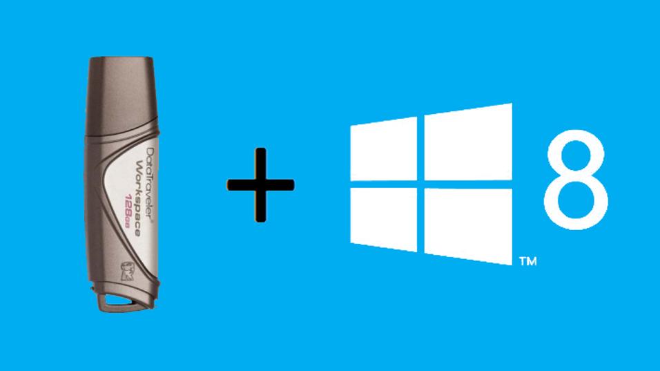 GUIDE: Slik tar du med deg Windows 8 i lommen