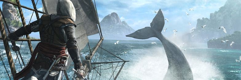 Enorm verden i storspillet Assassin's Creed IV: Black Flag