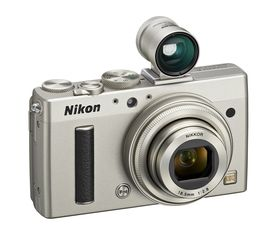 Nikon Coolpix A med søker.