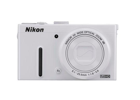Nikon Coolpix P330 kommer også i hvitt.