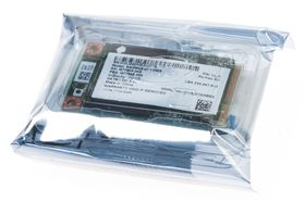 Intel 525 Series mSATA SSD.