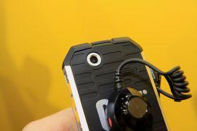 Kameraet har en oppløsning på fem megapiksler.