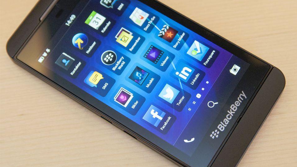 Tyske myndigheter velger BlackBerry