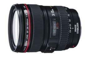 Canon EF 24-105 f/4L IS USM har en bildestabilisator som er egnet for videoopptak.