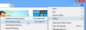 I Internet Explorer 10 er innstillingen litt mer bortgjemt, men her er den.