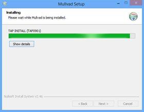 Mullvad er en VPN-tilbyder som gir deg et enkelt program å installere. Etter installasjonen kan du bli spurt om du vil installere en ny enhet; i så fall må du akseptere dette.