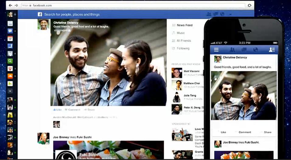 Facebook dropper den nye designen