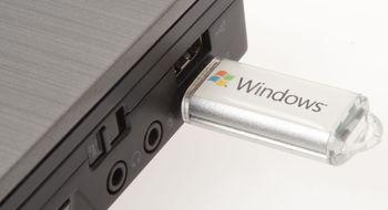 Installer Windows på minnepinne Vi omgikk sperren til Microsoft