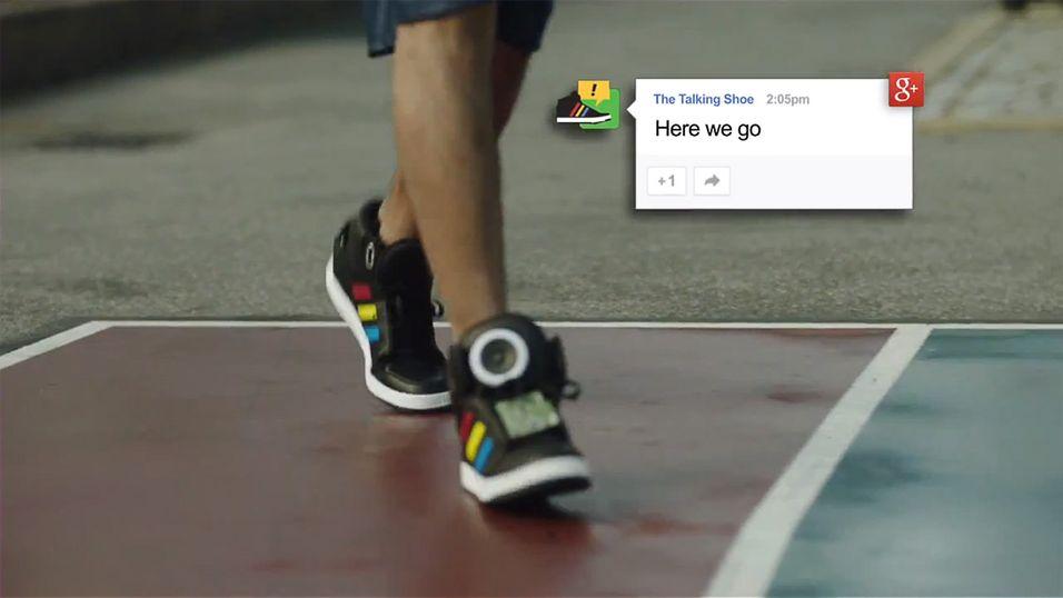 Hva med et par sko som motiverer deg til trening?
