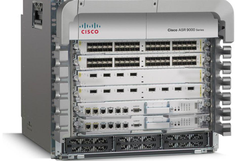 Kjempekapasitet fra Cisco