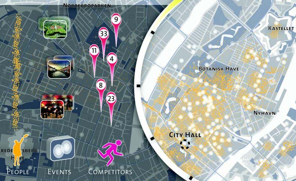 Københavnerne kartlegges av mobilnettet