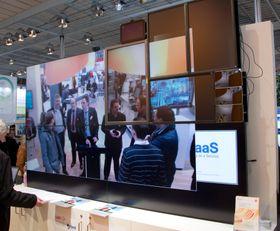 Med DaaS kan du kombinere skjermer som du selv vil.