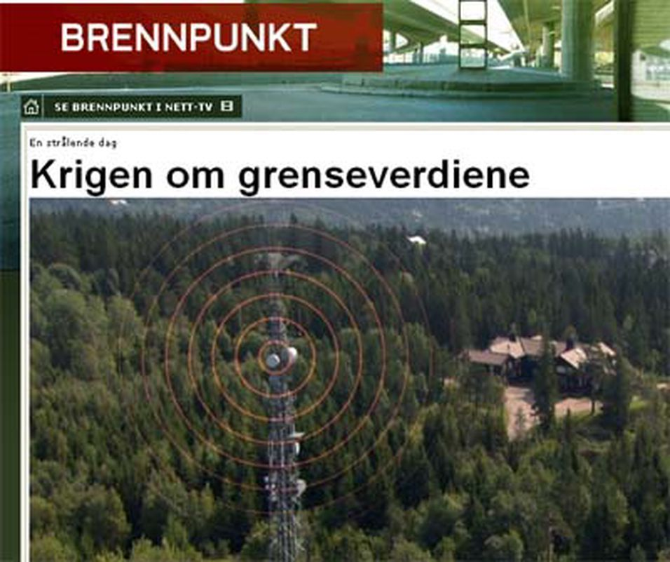 NRK hisset på seg Statens strålevern