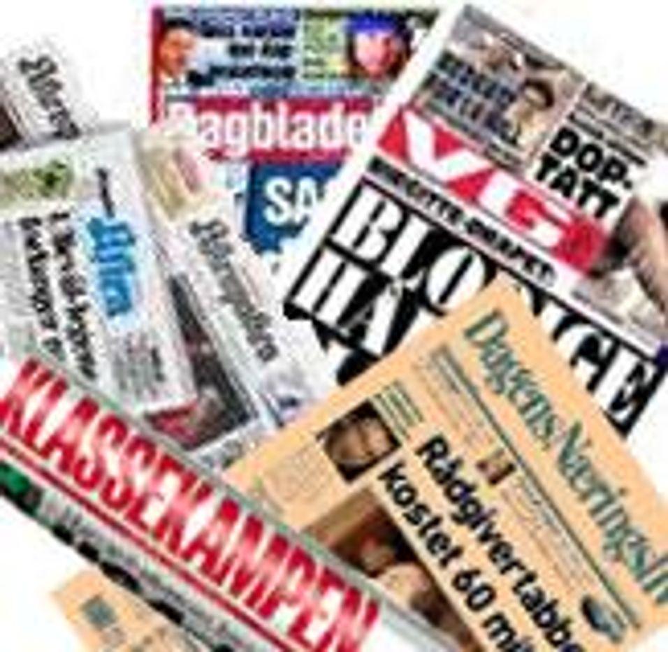 8 av 10 unge leser færre papiraviser
