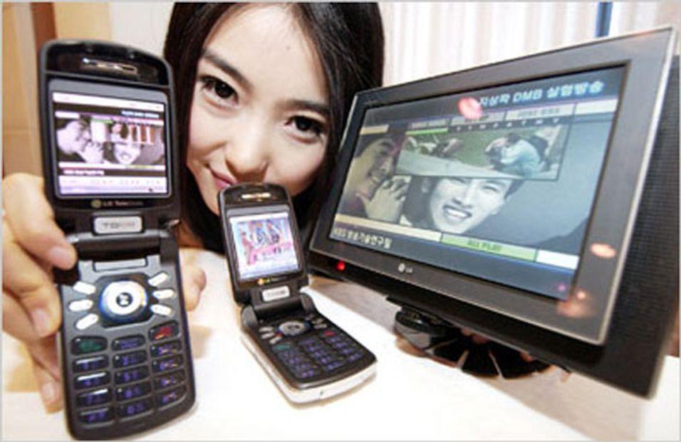Avviser DMB for mobil-TV