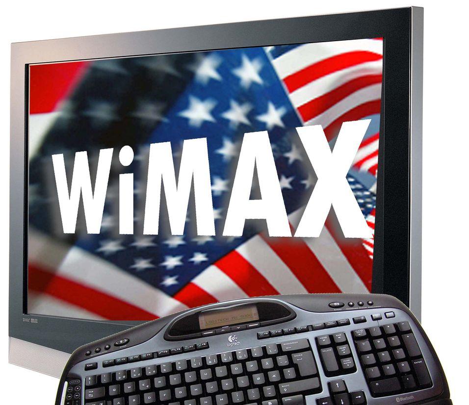 Første mobile wimax på lufta