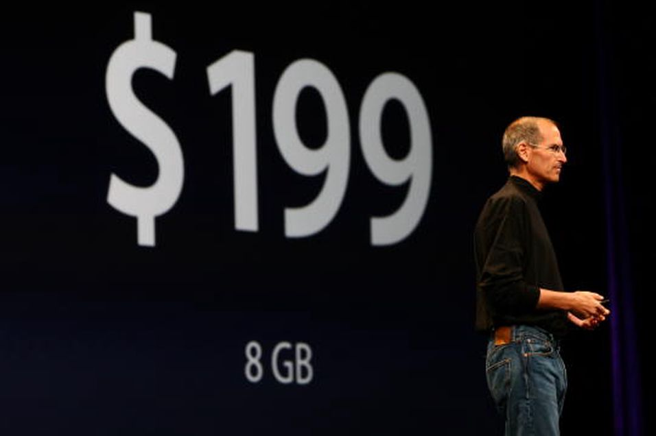 Ny iPhone med 3G og GPS