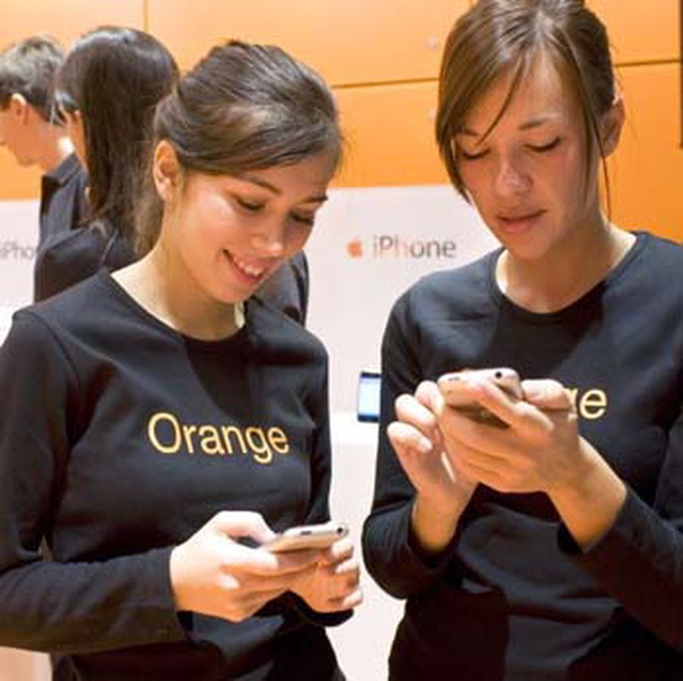 Orange og Apple uenige om iPhone