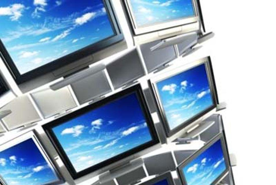 Ser TV på PC-skjermen