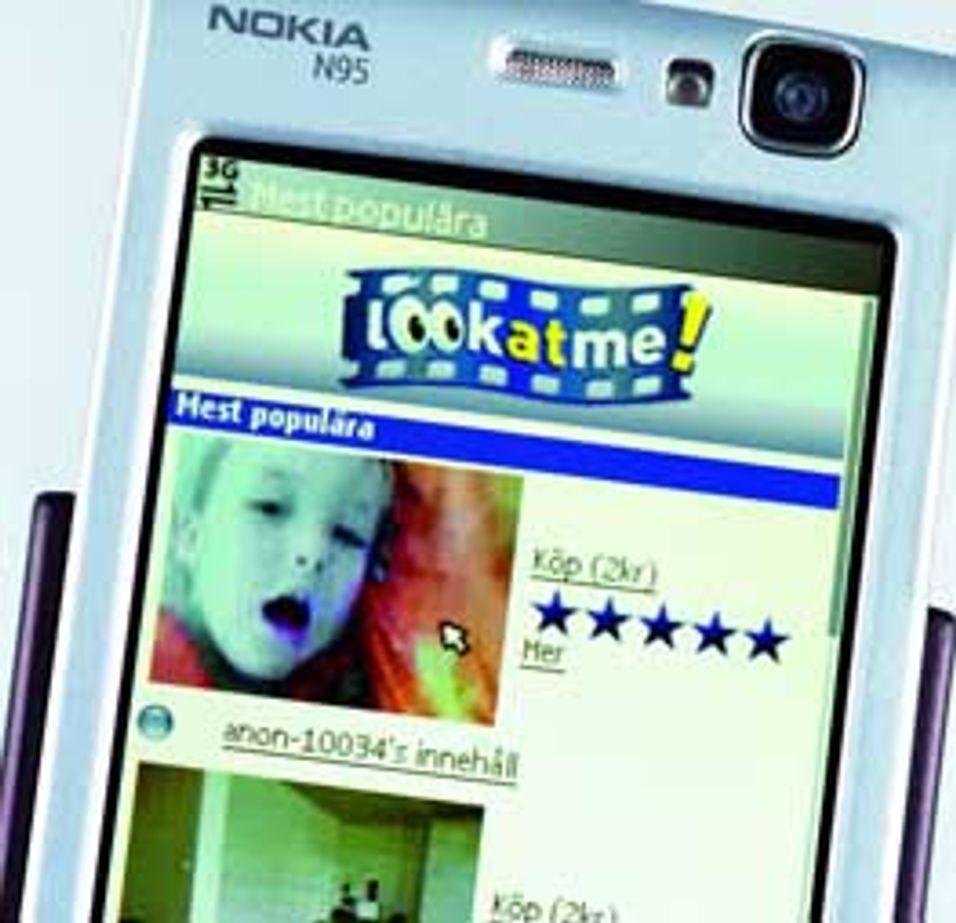 Mobilvideo hindres av formatstrid