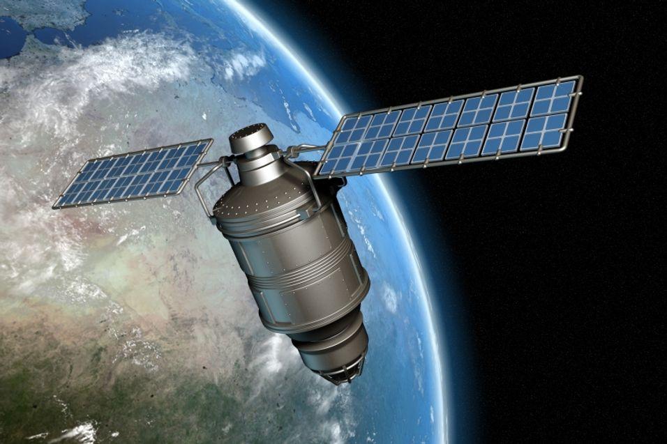 Satellittbilder rett på mobilen