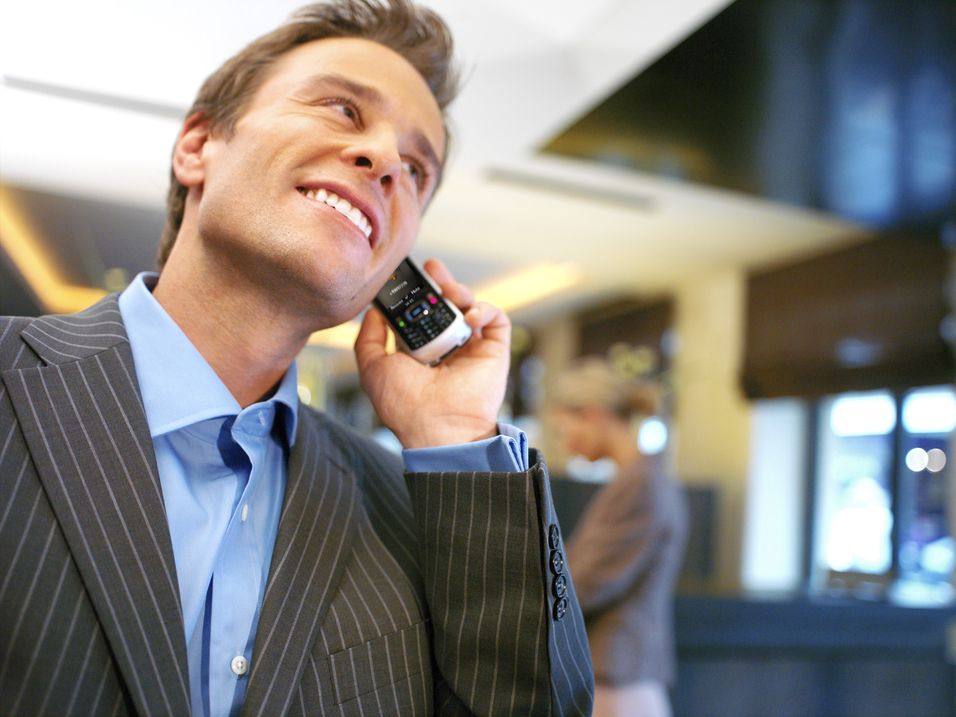 Mobilnettene har snart flest taleminutter