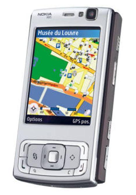 På tur med Nokia