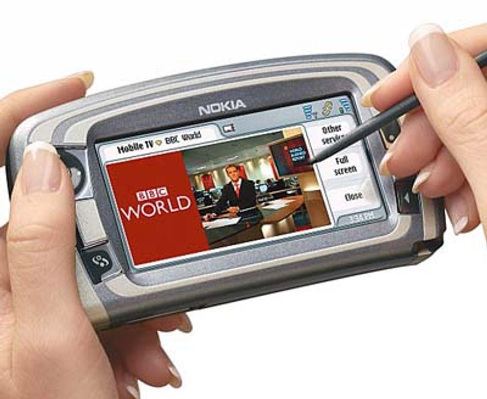 Mobil-tv fra 3G-siter