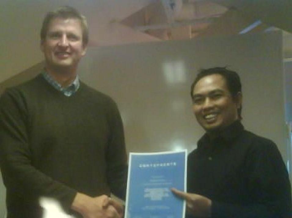 Bygger kompetanse i Indonesia