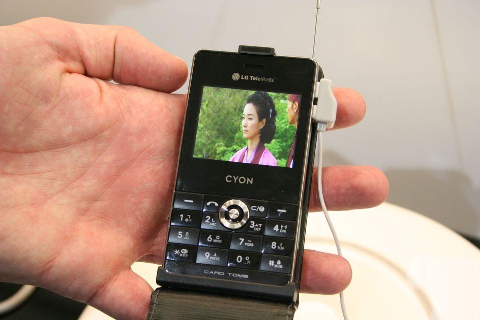 Telenor lanserer 16 kanaler på mobil-tv