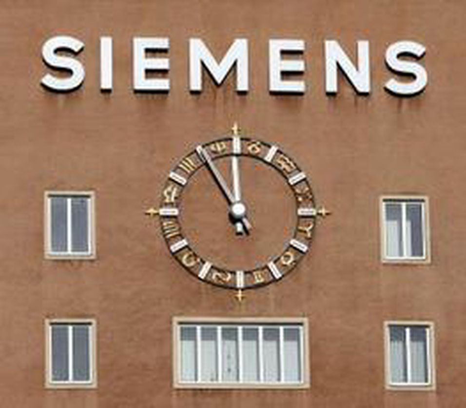 Siemens kan tape milliarder