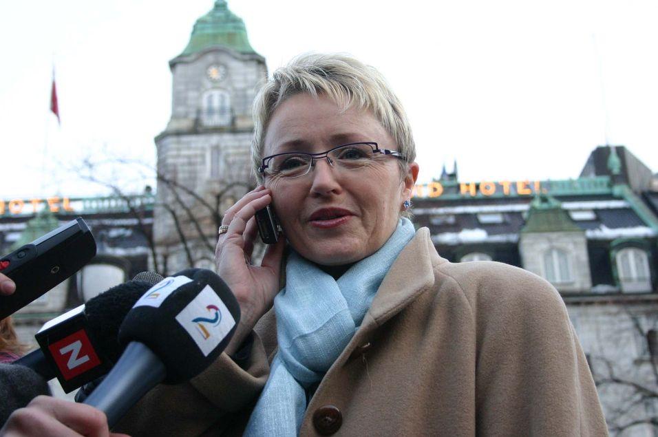 Samferdselsministeren overvåker strømbruddet