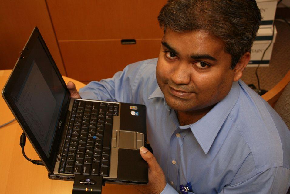 Beskytter laptopen via 3G