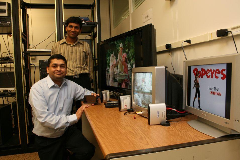 Lager system for målrettet reklame på IPTV