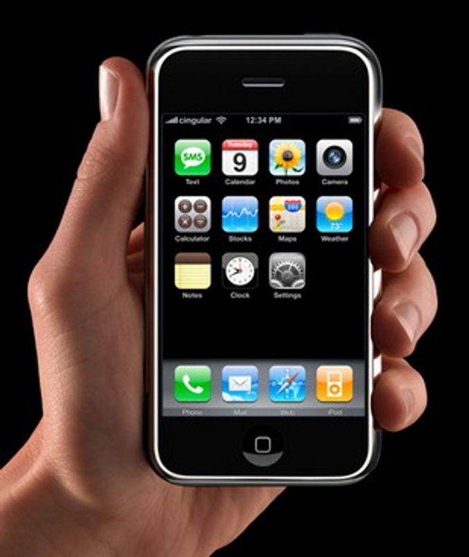 Skal det være en iPhone?